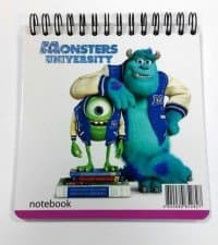 "Блокнот ""MonstersUniversity"" А6,  50л"